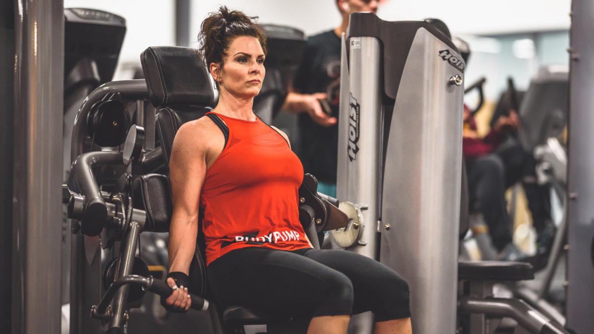 gym in blaine