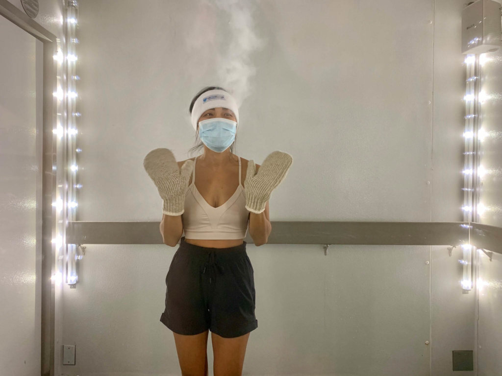 reduce sore muscles through cryotherapy