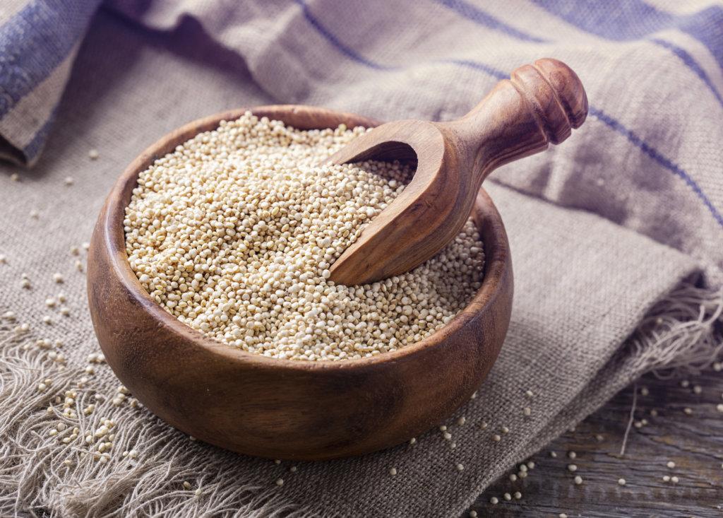 quinoa is a healthy calorie-dense food