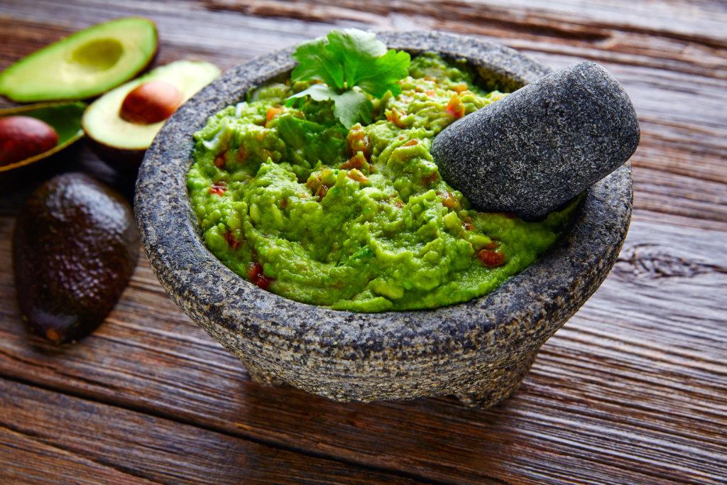 guacamole  is a healthy calorie-dense food