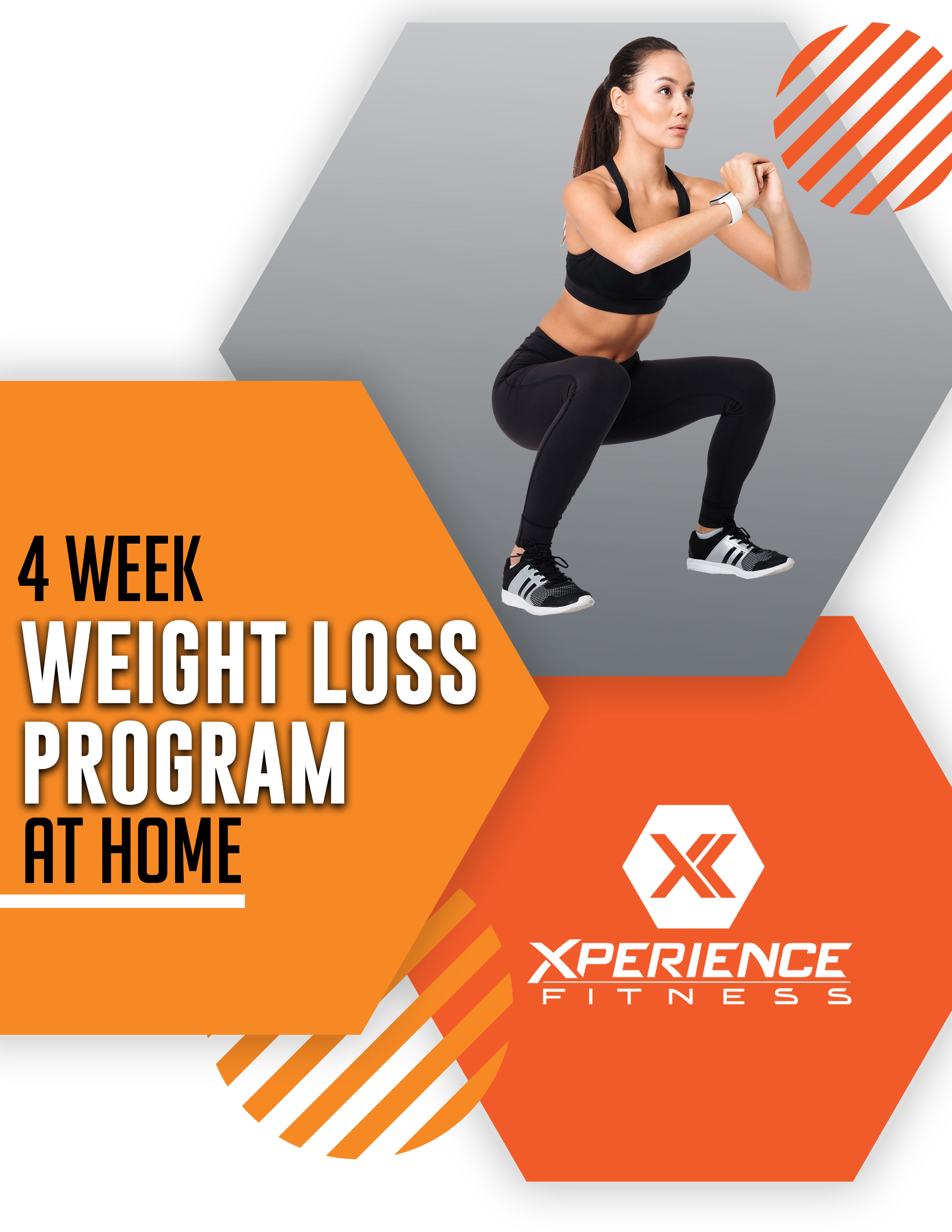 4 Week Weight Loss Program At Home Xperience Fitness