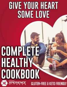 give your heart some love, complete healthy cookbook