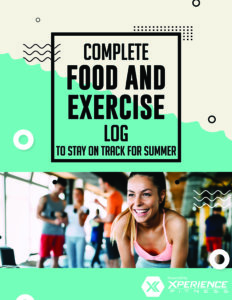Food and Exercise Log for Summer