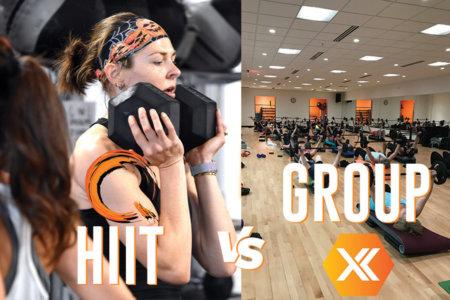 Q HIIT vs Group X