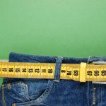 tape measure through belt loops